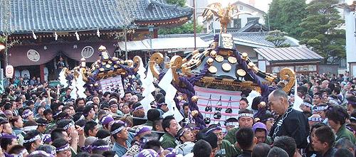 三社祭風景